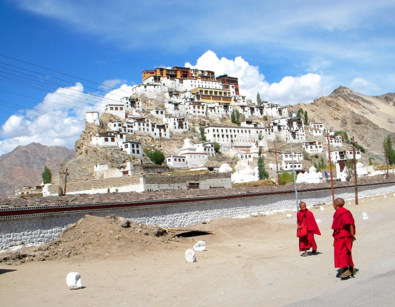 2008-09-16: Thiksey Gompa